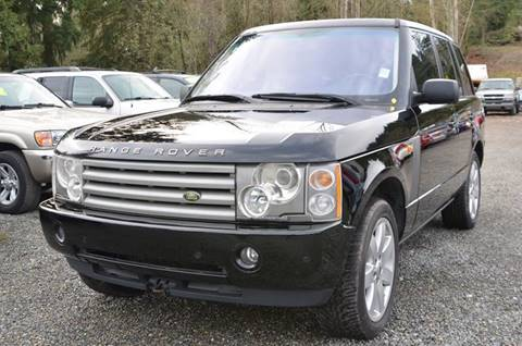 2004 Land Rover Range Rover for sale in Bothell, WA