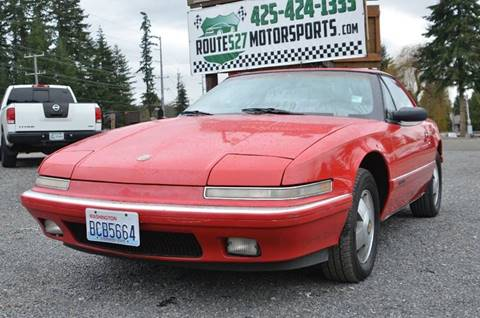1990 Buick Reatta for sale in Bothell, WA