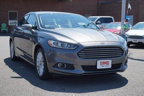 2014 Ford Fusion Energi for sale in South Portland ME