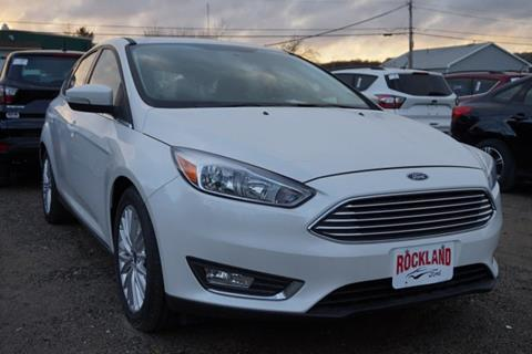 2017 Ford Focus for sale in Rockland, ME