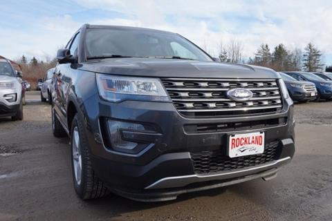 2017 Ford Explorer for sale in Rockland, ME