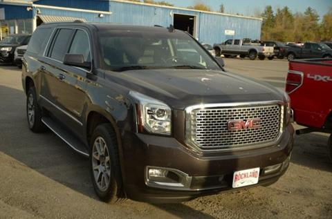 2016 GMC Yukon XL for sale in Rockland, ME