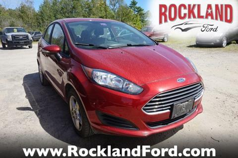 2017 Ford Fiesta for sale in Rockland, ME