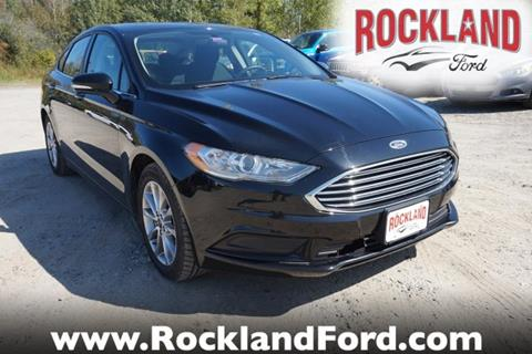 2017 Ford Fusion for sale in Rockland, ME