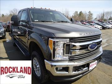 2017 Ford F-250 Super Duty for sale in Rockland, ME