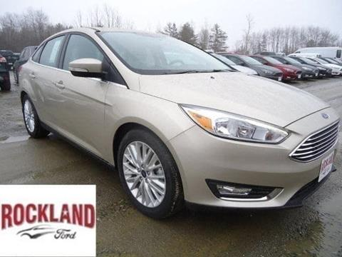 2017 Ford Focus for sale in Brunswick, ME