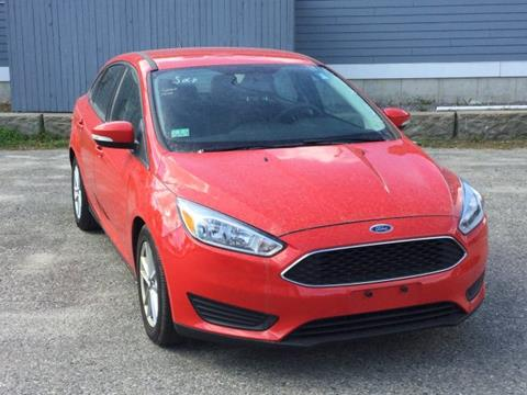 2015 Ford Focus for sale in Brunswick, ME