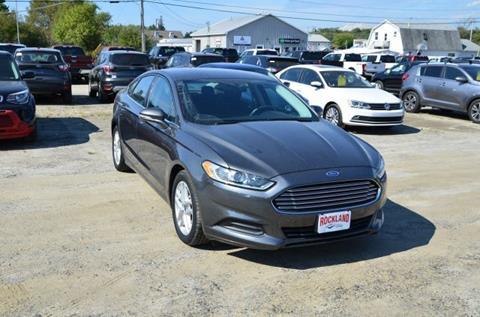 2016 Ford Fusion for sale in Brunswick, ME