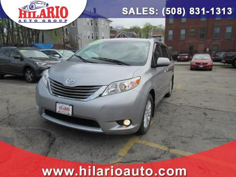 2012 Toyota Sienna for sale in Worcester, MA