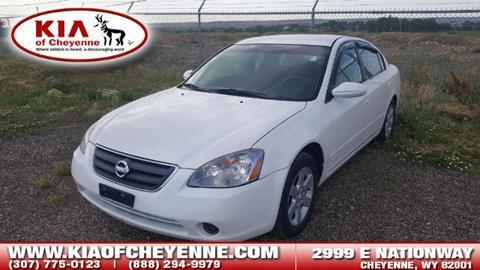 2002 Nissan Altima for sale in Cheyenne, WY
