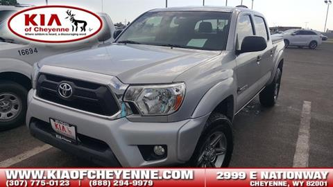 2013 Toyota Tacoma for sale in Cheyenne, WY
