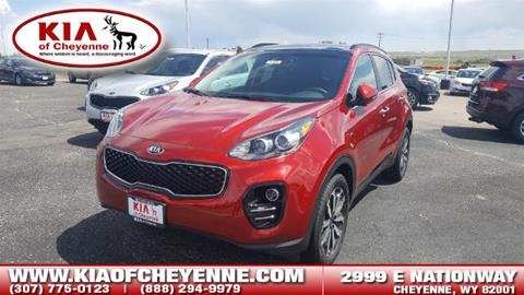 2018 Kia Sportage for sale in Cheyenne, WY