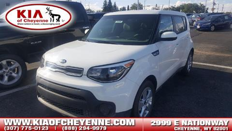 2017 Kia Soul for sale in Cheyenne, WY