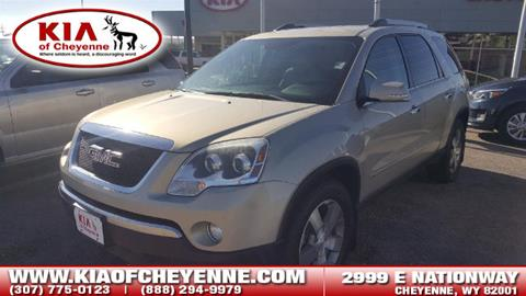 2010 GMC Acadia for sale in Cheyenne, WY