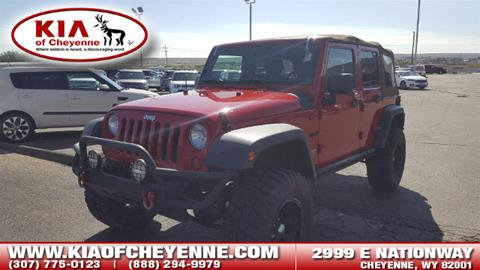 2010 Jeep Wrangler Unlimited for sale in Cheyenne, WY