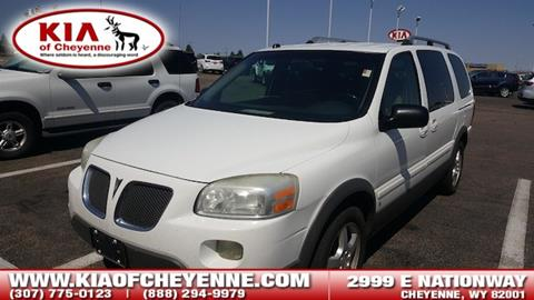 2006 Pontiac Montana SV6 for sale in Cheyenne, WY