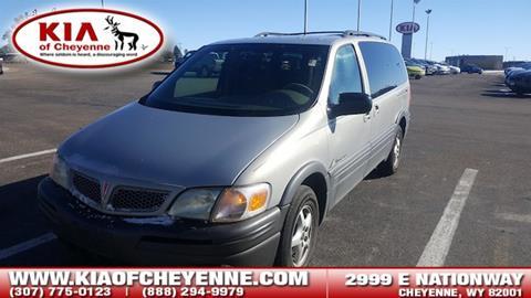 2001 Pontiac Montana for sale in Cheyenne, WY