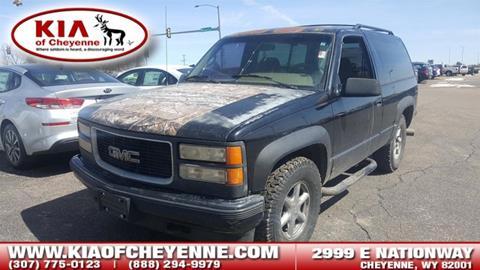 1995 GMC Yukon for sale in Cheyenne, WY