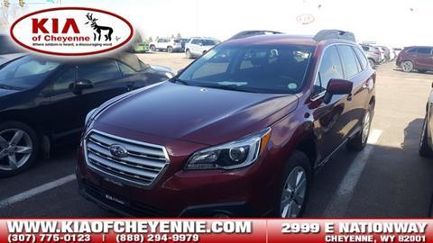 2017 Subaru Outback for sale in Cheyenne, WY