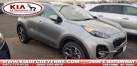 2020 Kia Sportage SX Turbo for sale at KIA OF CHEYENNE in Cheyenne WY