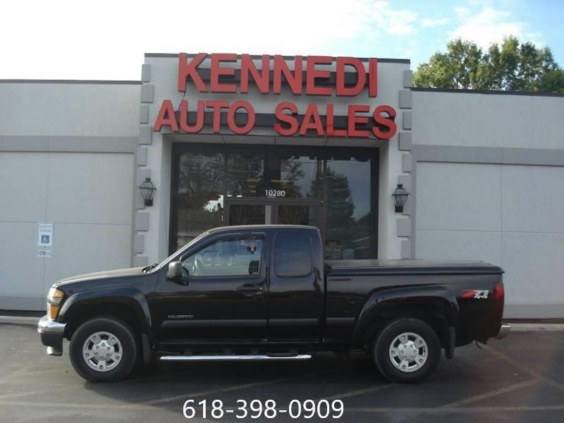 2004 Chevrolet Colorado 4dr Extended Cab Z71 Ls 4wd Sb In Cahokia Il