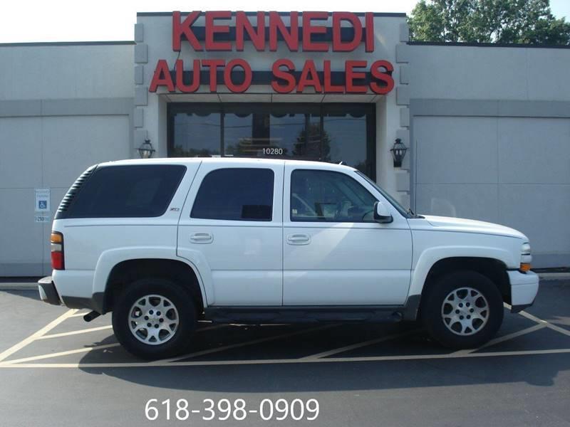 Kennedi Auto Sales >> 2005 Chevrolet Tahoe Z71 4WD 4dr SUV In Cahokia IL ...