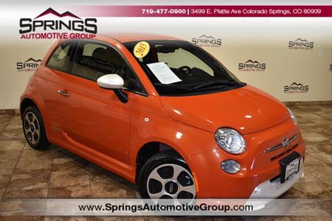 2015 FIAT 500e for sale in Englewood, CO