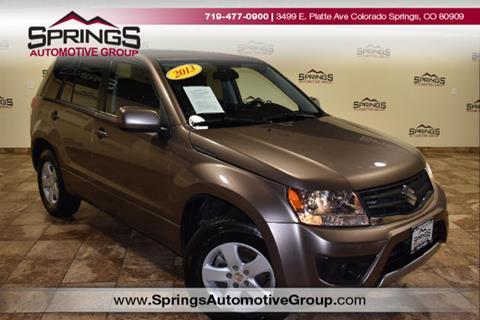 2013 Suzuki Grand Vitara for sale in Englewood, CO