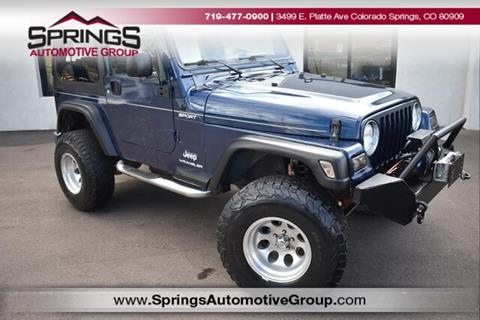 2005 Jeep Wrangler for sale in Englewood, CO