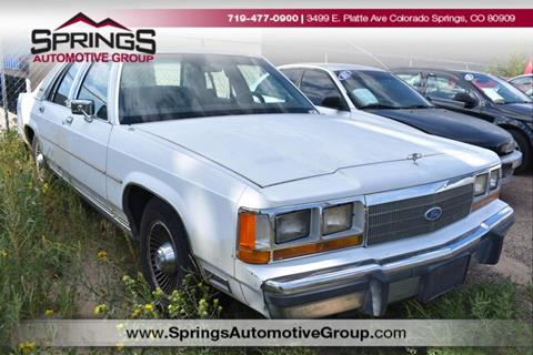 1990 Ford LTD Crown Victoria for sale in Englewood, CO