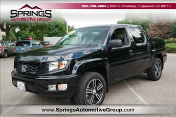 2013 Honda Ridgeline for sale in Englewood, CO