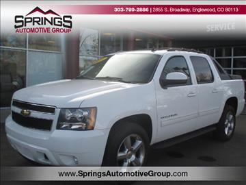 2011 Chevrolet Avalanche for sale in Englewood, CO