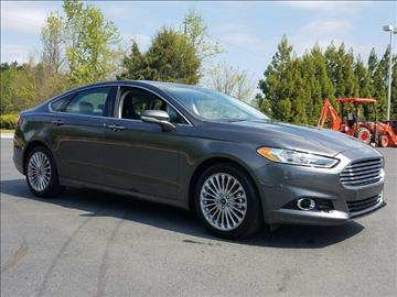 2016 Ford Fusion for sale in Reidsville, NC