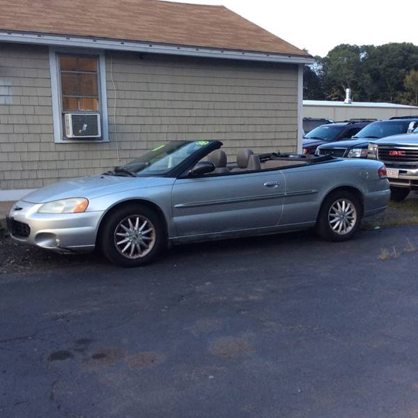 2002 Chrysler Sebring LXi 2dr Convertible In Whitman MA  Irving