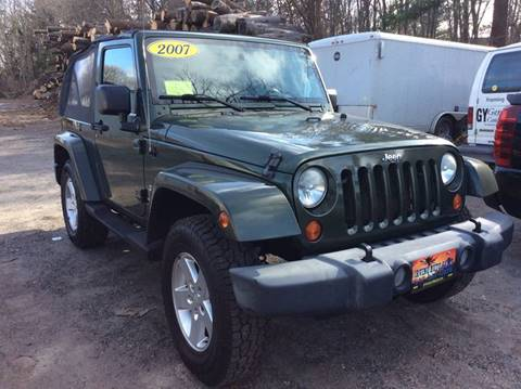 2007 Jeep Wrangler for sale in Whitman, MA