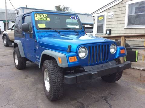 2003 Jeep Wrangler for sale in Whitman, MA