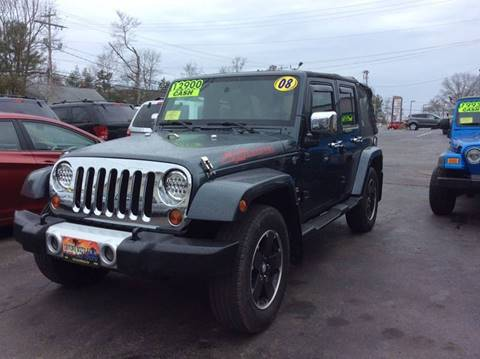 2008 Jeep Wrangler Unlimited for sale in Whitman, MA