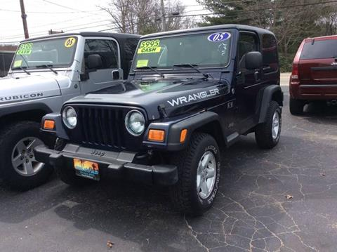 2005 Jeep Wrangler for sale in Whitman, MA