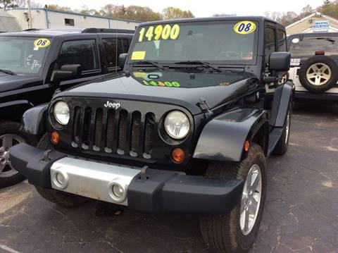 2008 Jeep Wrangler for sale in Whitman, MA