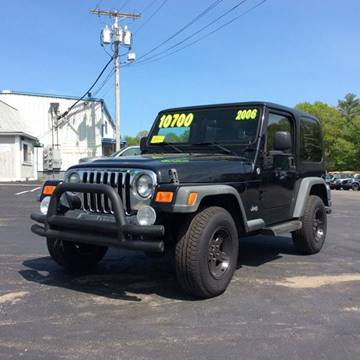 2006 Jeep Wrangler for sale in Whitman, MA