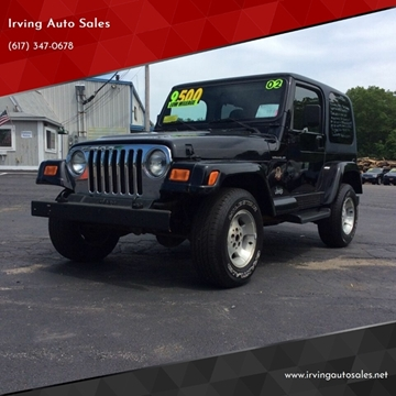 2002 Jeep Wrangler for sale in Whitman, MA