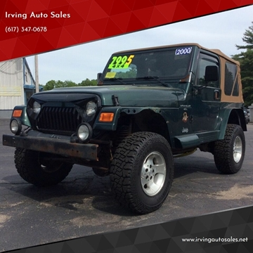 2000 Jeep Wrangler for sale in Whitman, MA