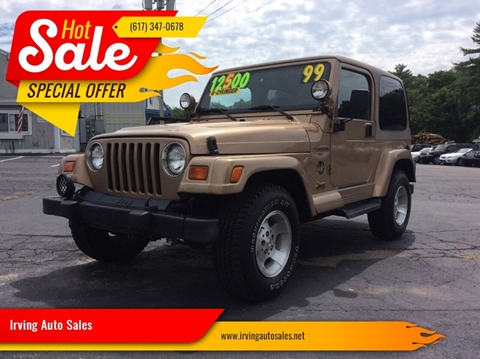 1999 Jeep Wrangler for sale in Whitman, MA