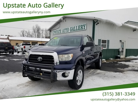 Upstate Auto Gallery >> 2008 Toyota Tundra For Sale In Westmoreland Ny