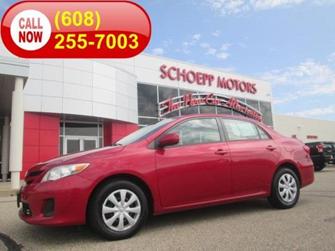 2011 Toyota Corolla for sale in Middleton, WI