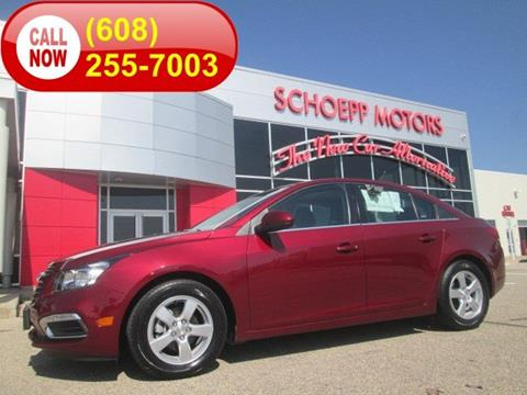 Used Chevrolet Cruze For Sale In Middleton Wi