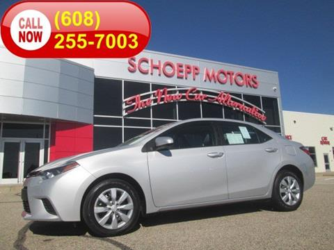2014 Toyota Corolla for sale in Middleton, WI