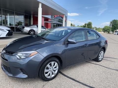 2016 Toyota Corolla for sale in Middleton, WI