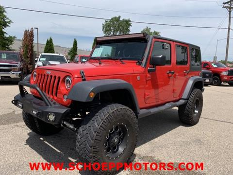 2016 Jeep Wrangler Unlimited for sale in Middleton, WI