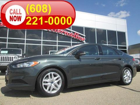 2016 Ford Fusion for sale in Middleton, WI